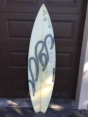 Orion Surfboard signed by Greg Geiselman