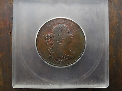 1806 Draped Bust Half Cent Xf Extra Fine Not Sure