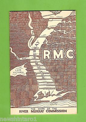 #t56.   The River Murray Commission  1946  Booklet