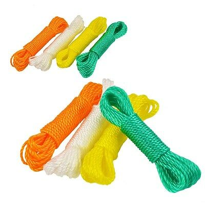 10m Long Clothesline Nylon Drying Clothes Dress Washing Hanger Rope Line Cord