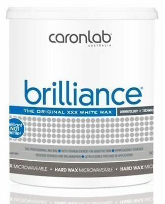 Caron Brilliance Hard Hot Wax Microwaveable 800g Waxing Hair Removal