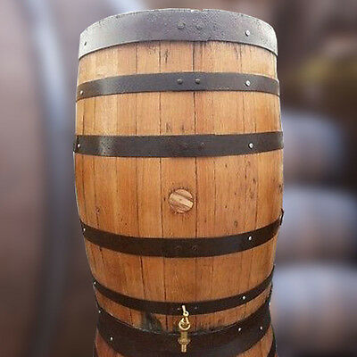 Recycled Solid Oak Whisky Barrel 200L Water Butt