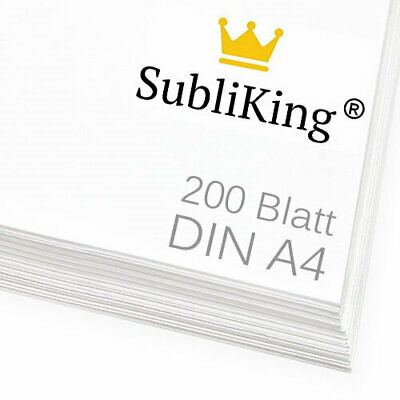 200 Blatt DIN A4 Sublimationspapier | Sublimation | Transferpapier