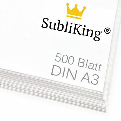 500 Blatt DIN A3 Sublimationspapier | Sublimation | Transferpapier