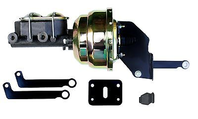 "Mopar 8"" Dual Power Brake booster & 1-1/8"" bore master Kit for A, B & E Body NEW"