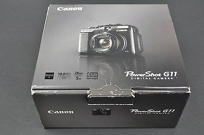 Canon G11 Digital Camera Empty Box with Manual ONLY EH0200