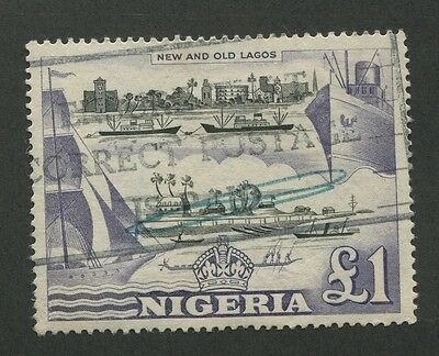 Nigeria #91 Used Vf
