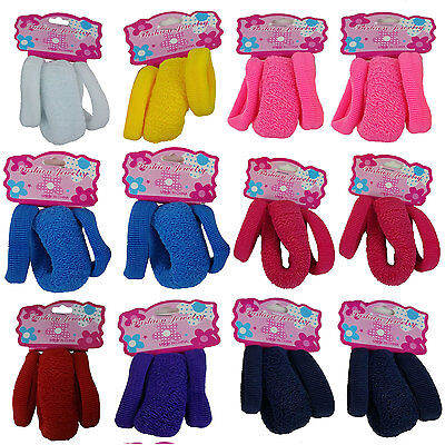 36 PCS Hair Ties Pony Holder Elastic Band Scrunchies Ponytail Bracelet - US Ship