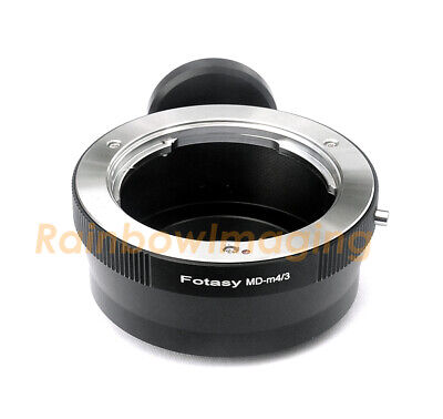 Minolta MD lens to M43 MFT Camera Adapter Tripod Ring Olympus