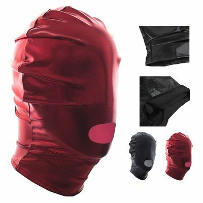 Open Mouth Sex Face Head Mask Restraint Fetish Toys Headgear Adult Party Toys