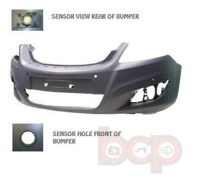 Vauxhall Zafira Mk2 2008 -2013 Front Bumper With Pdc Sensor Holes New Primed