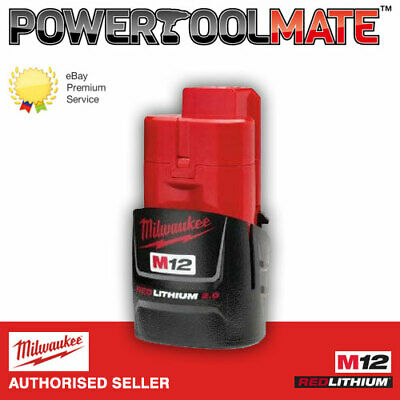 Milwaukee M12B2 12v Li-Ion 2.0Ah Battery
