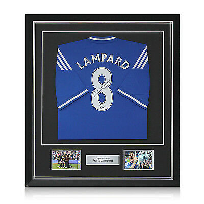 Frank Lampard Signed Chelsea 2013-14 Football Shirt Autographed