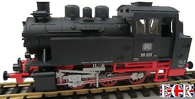 NEW PIKO BR80 LOCO SMOKE & SOUND G SCALE 45mm GAUGE ELECTRIC TRACK LGB BACHMANN