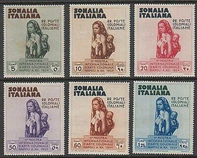 Somalia 1934 Exhibition Postage Set (6) (Id:876/d37822)
