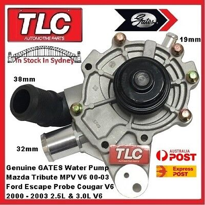 Water Pump & Housing 41011 Mazda Tribute MPV & Ford Escape 3.0 V6 00 01 02 03