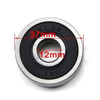 6301RS 37mm x 12mm x 12mm Rubber Sealed Deep Groove Ball Bearing