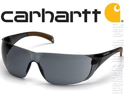 Carhartt Billings Smoke ANTI FOG Lenses Safety Glasses Sunglasses Z87+