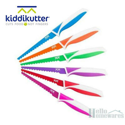 KiddiKutter Knife Safe Cutlery for Kids Kiddie Kiddi Kutter Free Postage