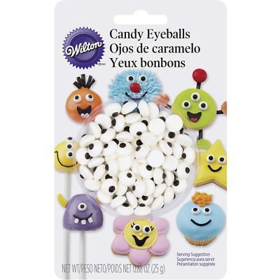 Wilton New Candy Eyeballs Cookie Cake Cupcake Decorations 5/16 Inches Diameter