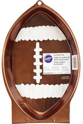 Wilton First And Ten Football Pan Super Bowl Party Cake Jello Mold Hand Washing