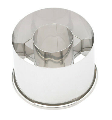 """Ateco 2 1/2"""" COOKIE/BISCUIT CUTTER Stainless Steel Harold Import Dishwasher Safe"""