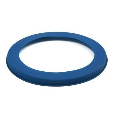 "Norpro Silicone 10"" Blue Pie Crust Shield Prevents Burning And Spillage New 3278"