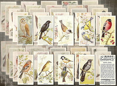 Carreras-Full Set- Birds Of The Countryside - Exc