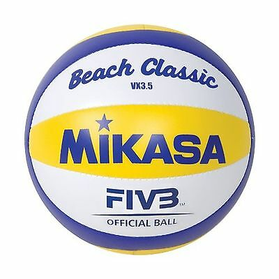 "Mikasa Mini Volleyball 2012 Beach Olympic Replica Game Ball 6"" Tall Size 1.5 New"