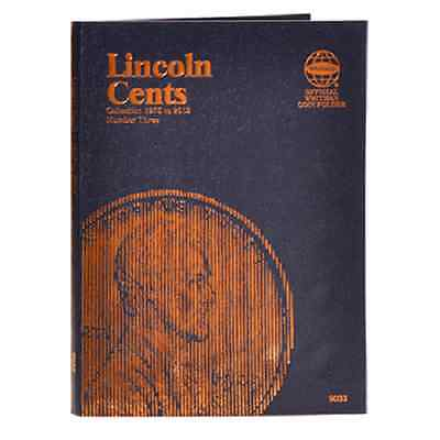 Whitman Coin Folder 9033 Lincoln Cents #3  1975 - 2013  Album / Book