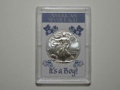 It's A Boy - 2019 American Silver Eagle - One Ounce ASE 1 oz - Baby Gift