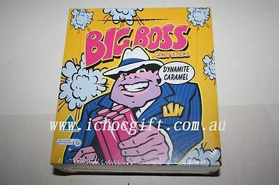 BIG BOSS Dynamite Caramel Candy Sticks 75 Sticks Box