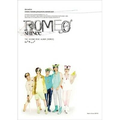 Shinee-[Romeo] 2nd Mini Album Random Cover CD+Booklet+Gift K-POP Sealed Juliette