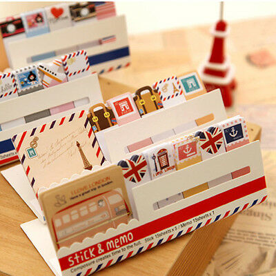 1pc Fly London Sticker Post-It Bookmark Point It Marker Memo Flags Sticky Note