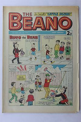 The Beano #1643 January 12th 1974 FN+ Vintage Comic Bronze Age Dennis The Menace