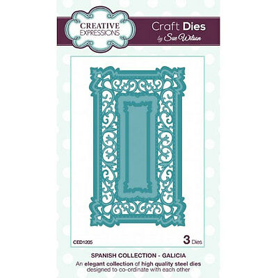 Craft Dies by Sue Wilson - Spanish Collection - Galicia (CED1205)