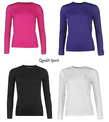 Ladies Campri Thermal Underwear Base Layer Ski Snow Top Shirt - FREE POSTAGE