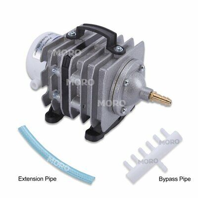 20/40/85 L/Min Electromagnetic Commercial Air Pump F Fish Pond Aquarium Tank