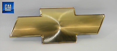 00-06 Chevrolet Tahoe Gold Front Grill Bowtie Emblem     NEW GENUINE GM 12335633