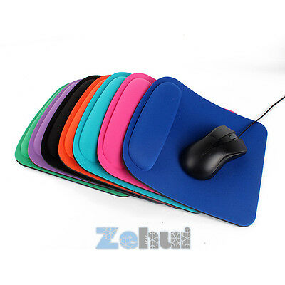 Comfort Wrist Gel Rest Support Mat Soft Thick Mouse Pad Computer PC Laptop H43