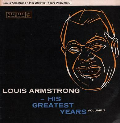 Louis Armstrong(2 Box EMI Vinyl LP)His Greatest Years Volume 2-Parlopho-VG/Ex