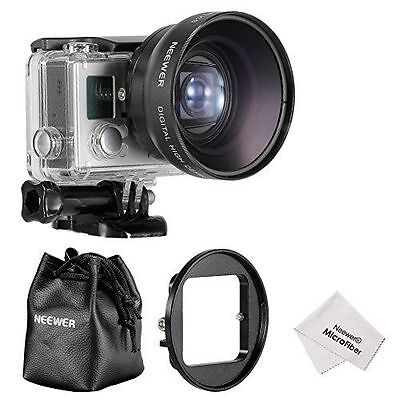 Neewer Kit Objectif 52mm Haute Définition pour Gopro Hero 3/4, Kit NEUF