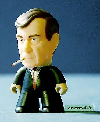 X-Files The Truth Is Out There Collection Titans Vinyl Figures Smoking Man 2/20