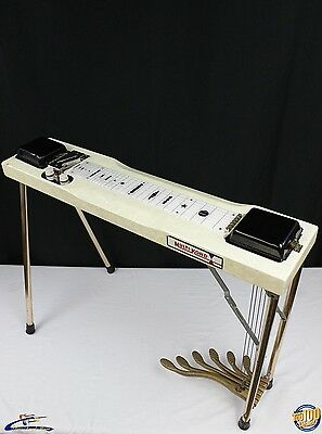 1950's Harlin Bros. Multi-Kord 6 Pedal, 6 String Pedal Steel w/Case! USA! #31975