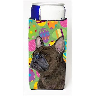 French Bulldog Easter Eggtravaganza Michelob Ultra bottle sleeves For Slim Ca...