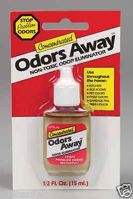 Odors Away Air Freshener 1/2 Oz Concentrate