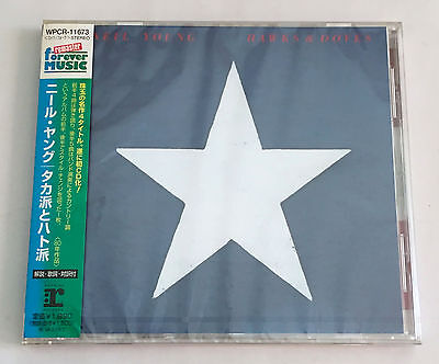 NEIL YOUNG Hawks & Doves JAPAN CD 2003 WPCR-11673 w/OBI HDCD NEW SEALED