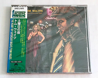 TOM WAITS The Heart Of Saturday Night JAPAN CD 1997 AMCY-3042 w/OBI NEW SEALED