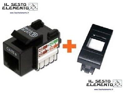 Presa Di Rete Cat.5E Utp Serie Bticino Living International Rj45 Prese A Muro
