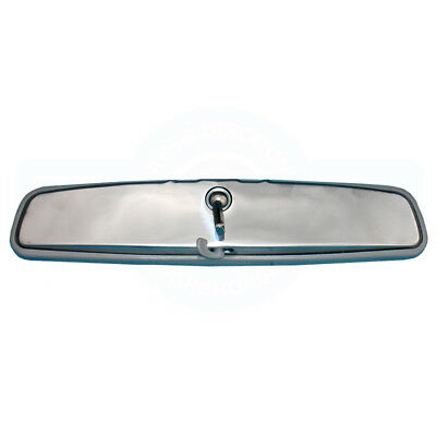"69-72GM ABody Inside Rear View Rearview Day Night 12"" Mirror Stainless Grey Trim"